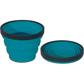 Sea to Summit X-Cup Drinkfles blauw